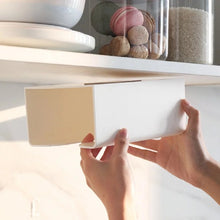 Load image into Gallery viewer, Kitchen Perforated Wall-mounted Tissue Box Paper Towel Rack