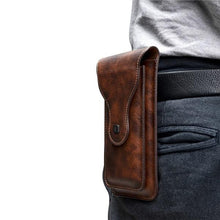 Load image into Gallery viewer, Universal Vertical Phone Pouch Belt Clip Holster Waist Bag
