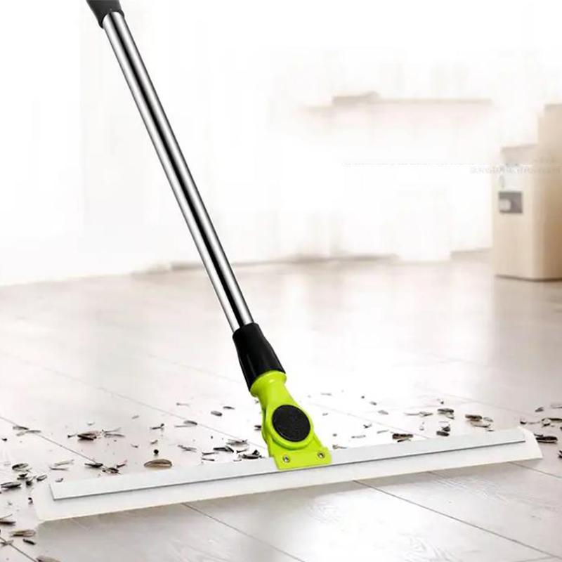 Rotating Cleaning Broom Household Glass Wiper Floor Scraping Cleaning Broom