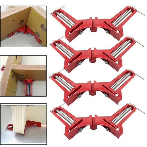 4pcs Multifunction 90 Degree Right Angle Frame Corner Clamp