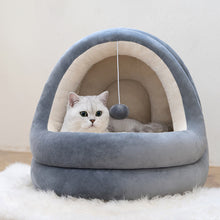 Load image into Gallery viewer, High Quality Cat House Cozy Bed Cave Sleeping Nest