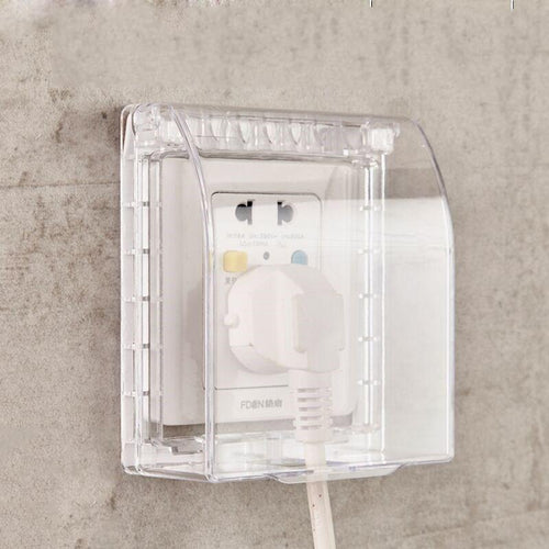 Universal Waterproof 86 Type Wall Socket Plate Panel Switch Box Cover