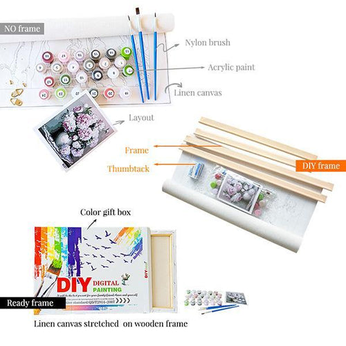DIY Digital Oil Painting Tool Set