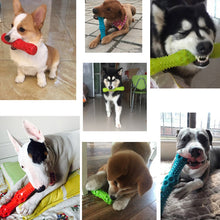 Load image into Gallery viewer, Durable Floating Squeaking Fetch Stick Dog Toy