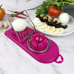 Multifunctional Stainless Steel Egg Cutting Tool