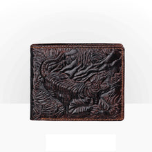 Load image into Gallery viewer, Men 3D Fashion Cowskin Wallet Unique Design Luxury Long Short Purse