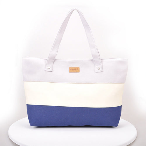 Causal Color Block Shoulder Bags For Women