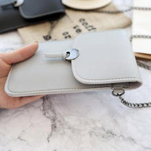 Load image into Gallery viewer, Women Retro Simple Transparent Touch Screen  6 inch Mobile Phone Chain Bag