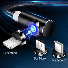 Load image into Gallery viewer, Magnetic Data Cable Android Apple TypeC Mobile Phone Charging Cable