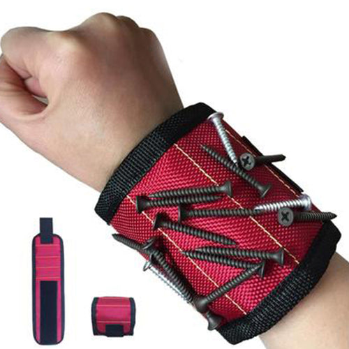 Wrist Support Strong Magnetic For Screw Nail Holder Wristband Band