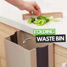 Load image into Gallery viewer, Creative Wall Mounted Folding Waste Bin