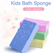 Load image into Gallery viewer, Bath Sponge Printed Scrub Shower