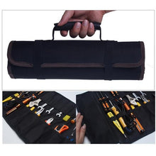 Load image into Gallery viewer, Socket Organizer 22 Pockets Zipper Tool Roll Pouch Bag