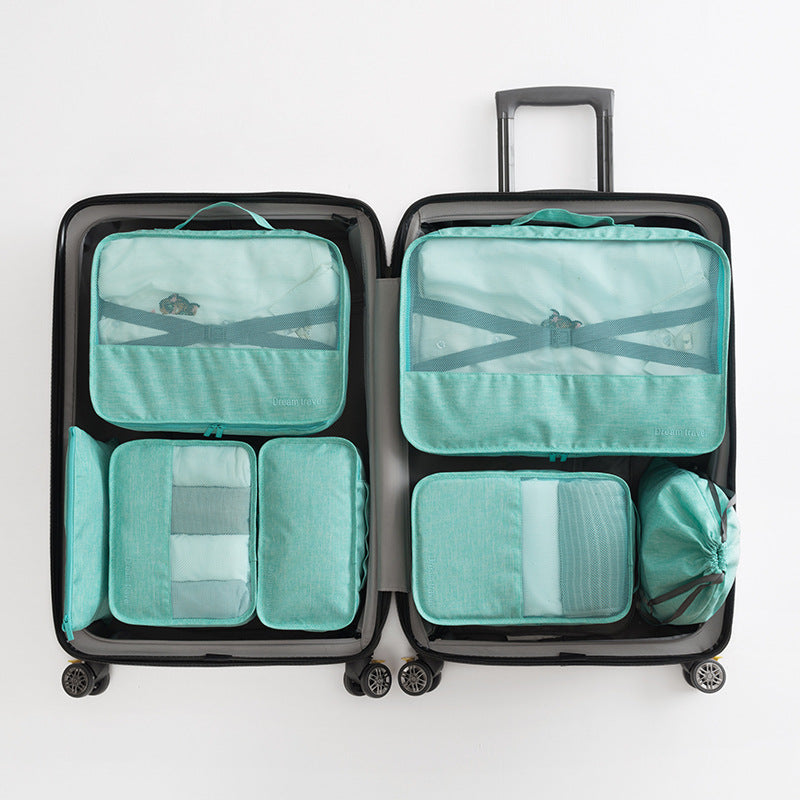 High-grade Suitcase Shoes Luggage Organizer Laundry Pouchs Packing Set Travel Storage Bag