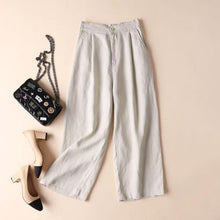 Load image into Gallery viewer, Plus Size Loose Solid Color Pants