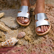 Load image into Gallery viewer, Casual Vintage Flat Sandal Slippers