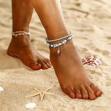 Load image into Gallery viewer, Women Fashion Conch Starfish Anklets