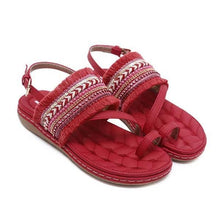 Load image into Gallery viewer, Fashion Casual Fringed Beach Sandals