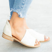 Load image into Gallery viewer, Fashion Casual Open Toe Slip-On Sandals