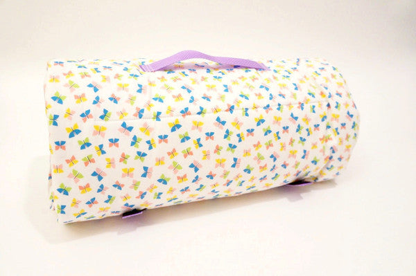 rolled toddlers butterflies mat for incidental nap mats toddler legend products butterly organic grande
