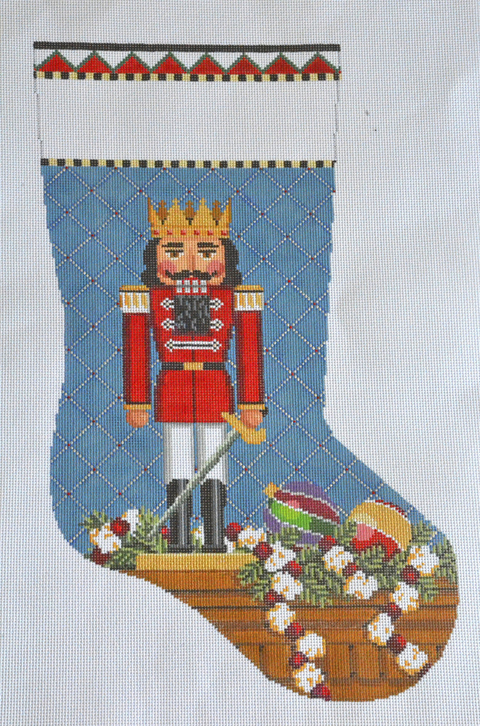 Nutcracker King Stocking