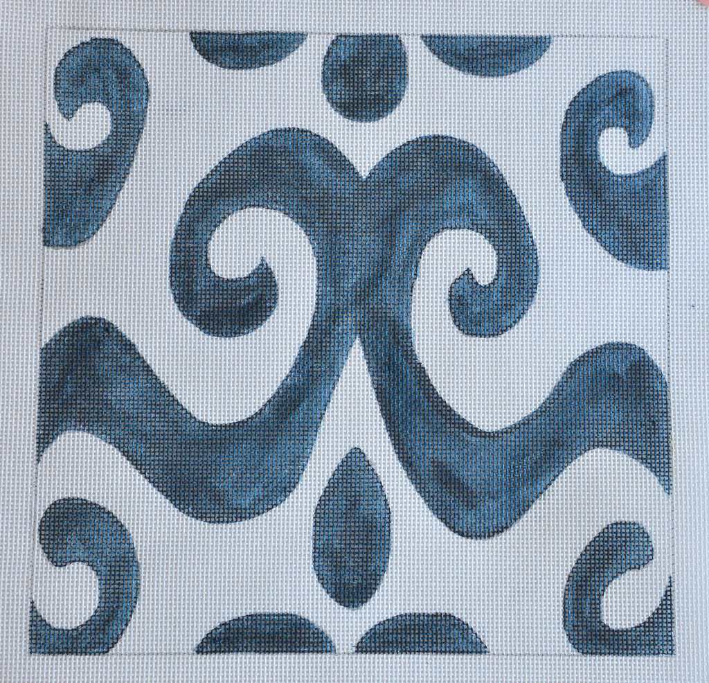 Ikat, Small Swirls
