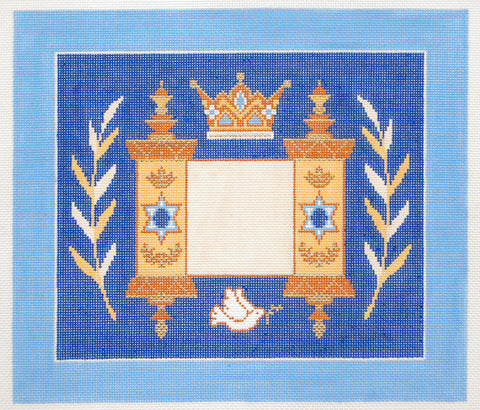 Torah with Crown