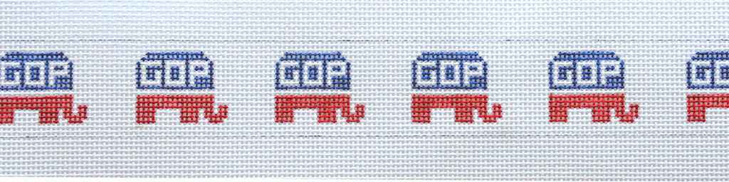 GOP Elephants Belt