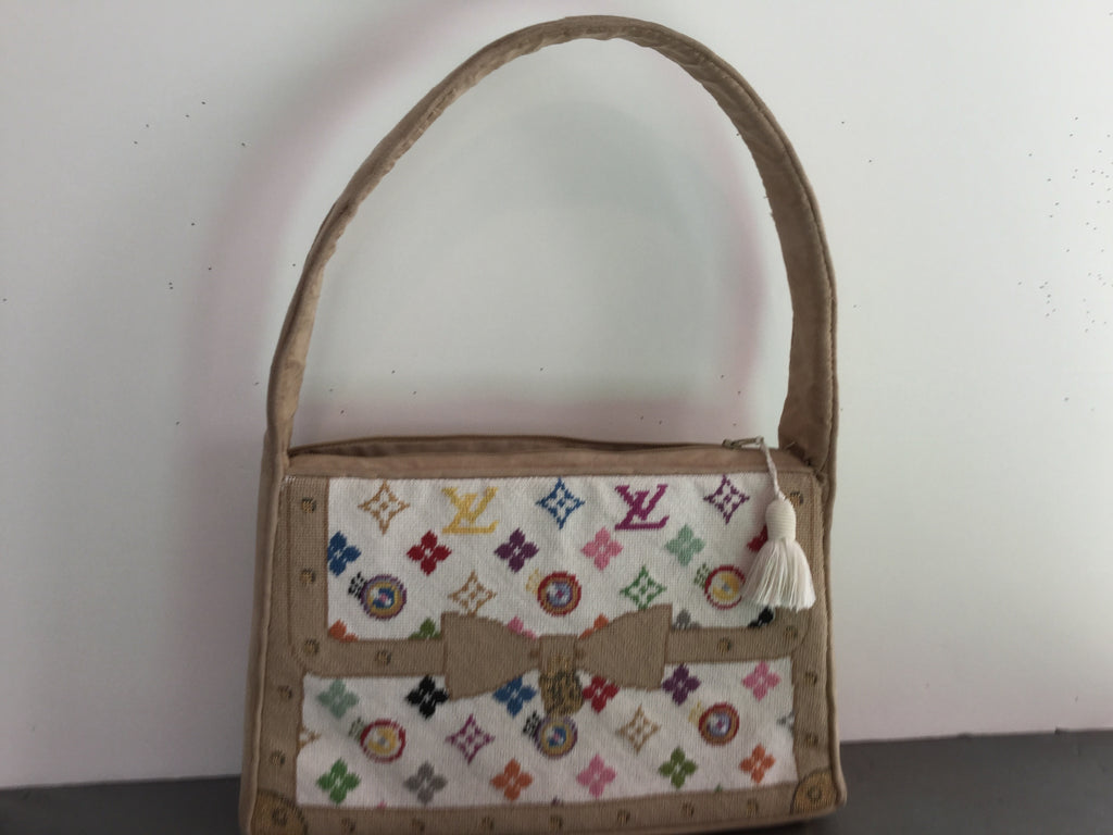 Petit Point Logo Bag