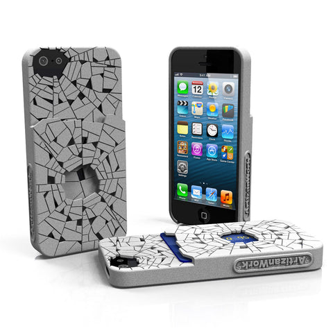 Shattered - Apple iPhone Case with Pocket (Fits the iPhone 5 or 5s)
