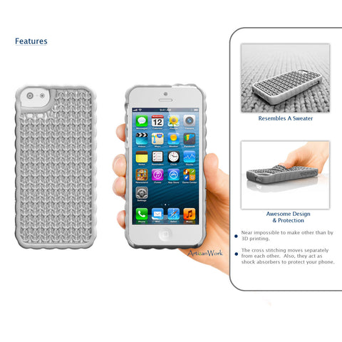 Sweater - Apple iPhone Case  (Fits the iPhone 5 or 5s) (**Award Winner**)