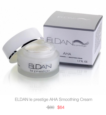 ELDAN Cosmetics le prestige AHA Smoothing Cream