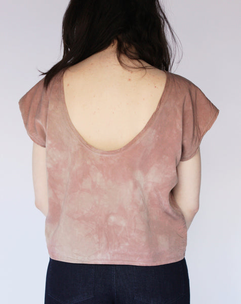 Wholesale--Latte Scoop Back Top