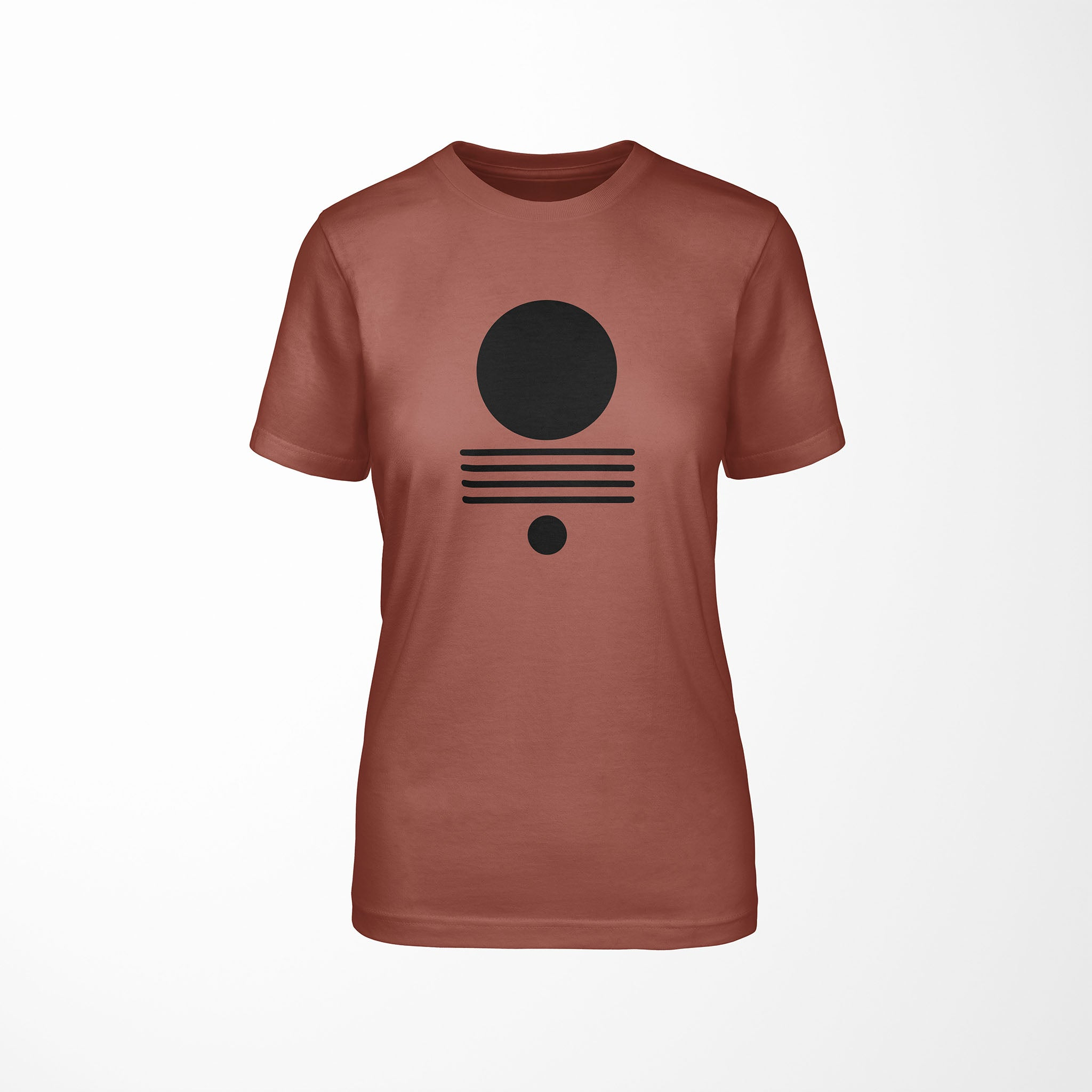 ELEMENTS Relaxed Fit Women's Triblend Clay T-Shirt front