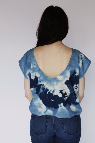 Wholesale--Indigo Dyed Top