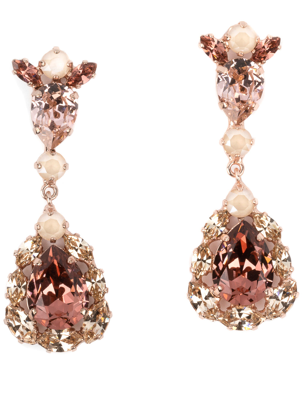 Pear drop earring