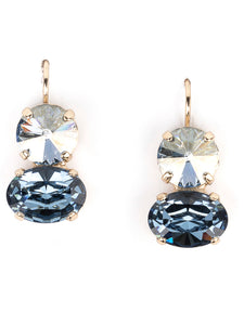 Pure Swarovski earrings