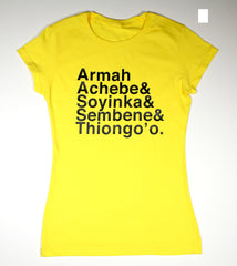 Ladies African Writers Tee (V1)