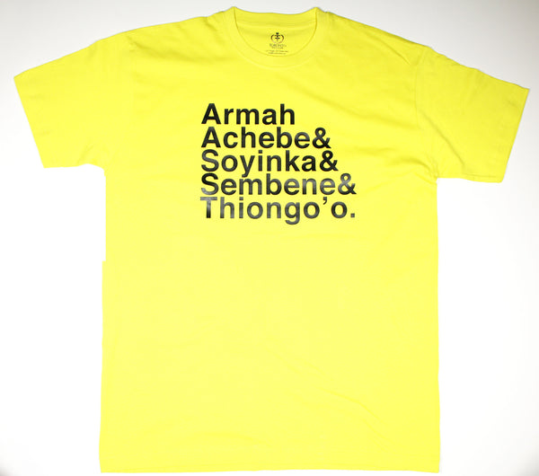 Mens African Writers Tee (V1)
