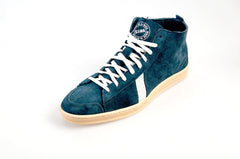 Blue Suede Hightop Sneakers