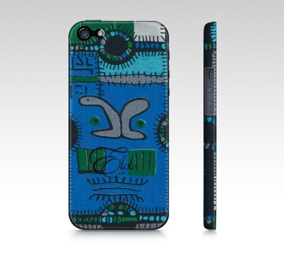 African print Iphone 5 Samsung Galaxy phone case