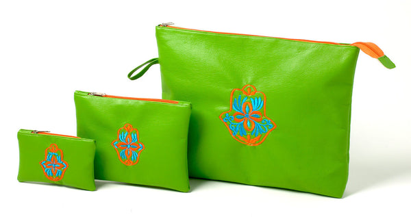 Moroccan Color Riot Purse (Green)