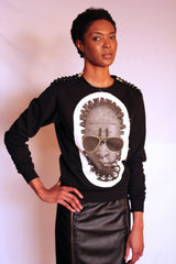 "Afrotropolis ""Black"" Sweatshirt Ladies"