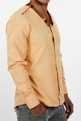 Men's Liberia Shirt (Orange Pastel)