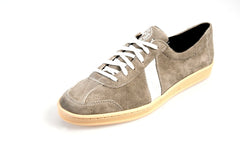 Grey Suede Lowtop Sneakers