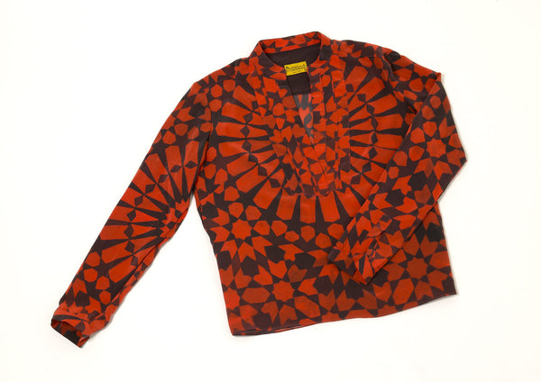 Marrakesh Burnt Orange Blouse