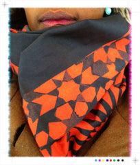 "Marrakesh ""Tessellations"" Printed Unisex Scarf"