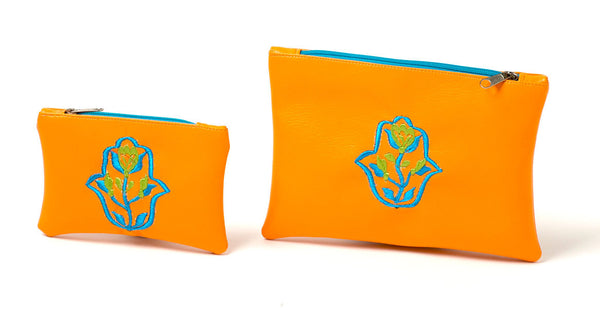 Moroccan Color Riot Purse (Orange)