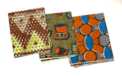 "Print Wax ""Ankara Fabrics"" Group2"