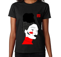 Women's She Be Lady Art T-Shirt (Black)